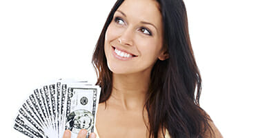 Money young woman WEB