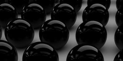 Black-marbles