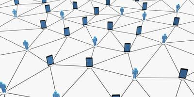 Conceptual social network.